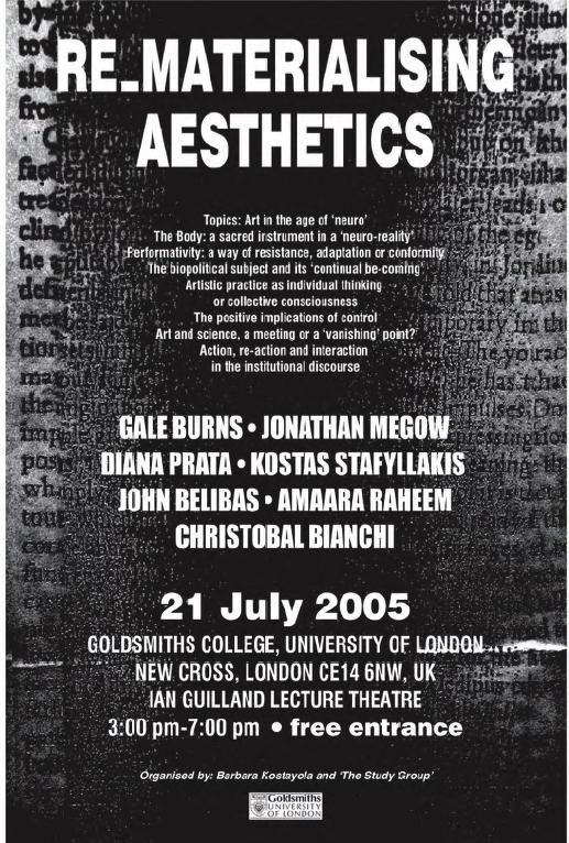 Rematerialising Aesthetics
